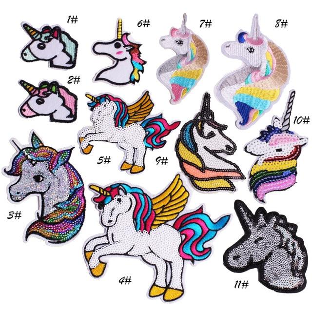 Unicornio caballo Comics Logotipo de dibujos animados chico bebé ...