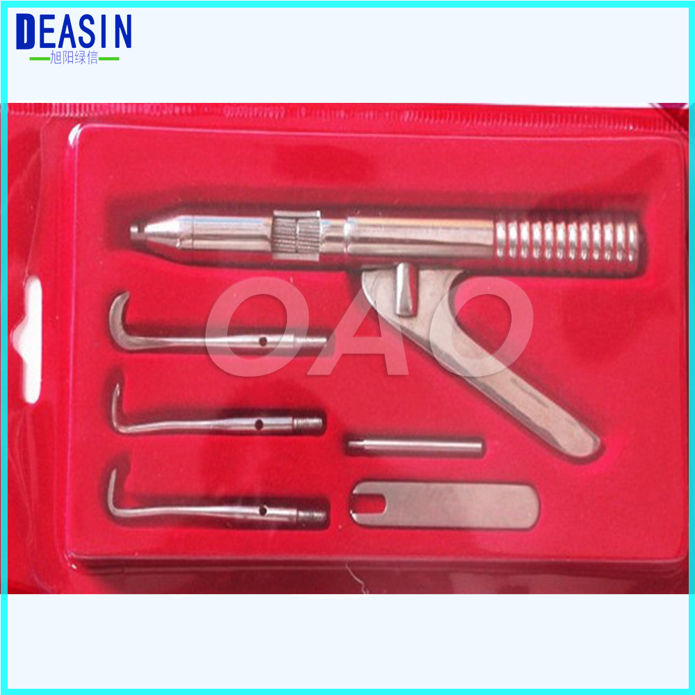 Professional Automatic Singlehanded Crown Remover GUN SET Dental Surgical Instruments Dental Health Care