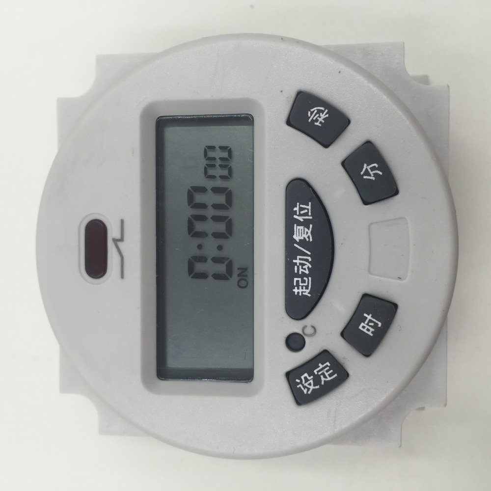 L702 single and double time countdown timer switch control aging stage relay SX102TCN102A hhs6a correct time countdown intelligence number show time relay bring power failure memory ac220v