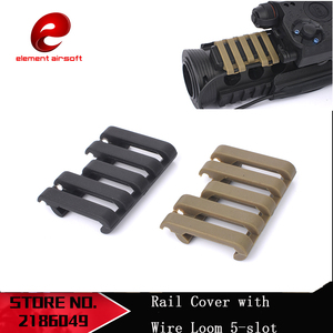 Element Airsoft Tactical 5-slot Rail Cover With Wire Loom Gun Accessories MP02007(China)