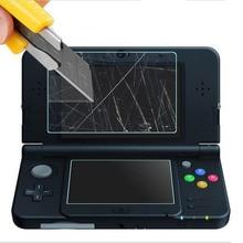 Топ закаленное стекло ЖК-экран протектор+ нижняя ПЭТ прозрачная защитная пленка для nintendo Small New 3DS консоль