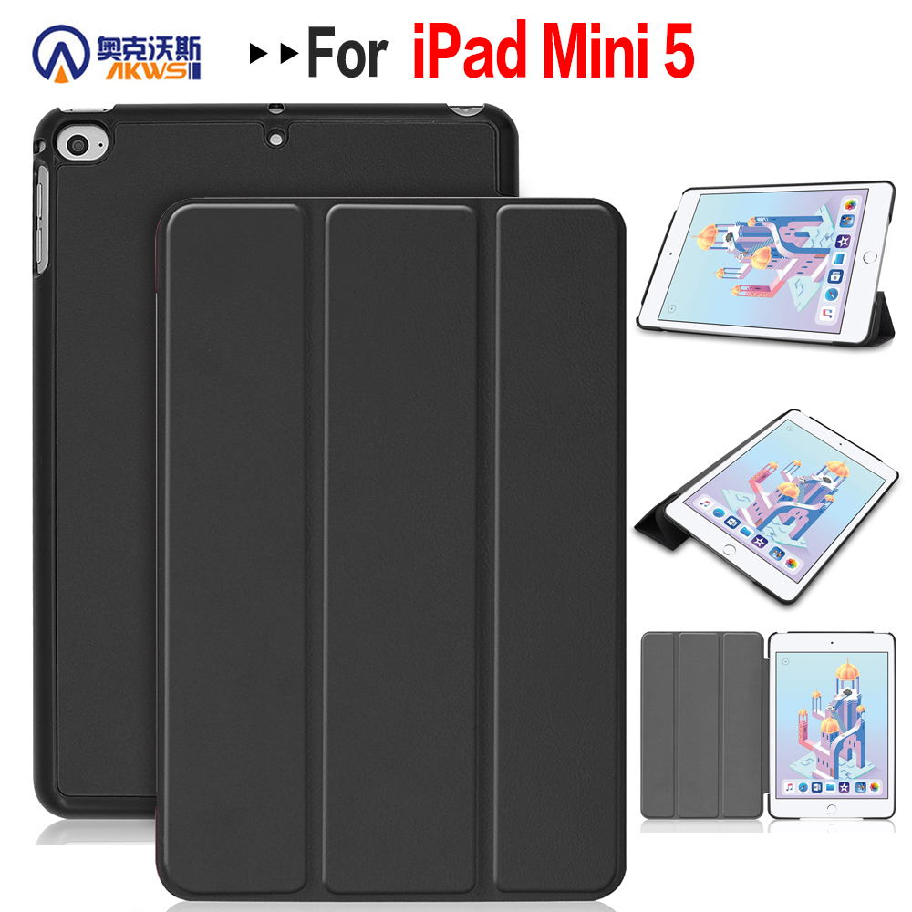 Stand tablet case for Apple ipad mini 4 slim case for ipad mini 5 cover case smart cover case+free giftStand tablet case for Apple ipad mini 4 slim case for ipad mini 5 cover case smart cover case+free gift