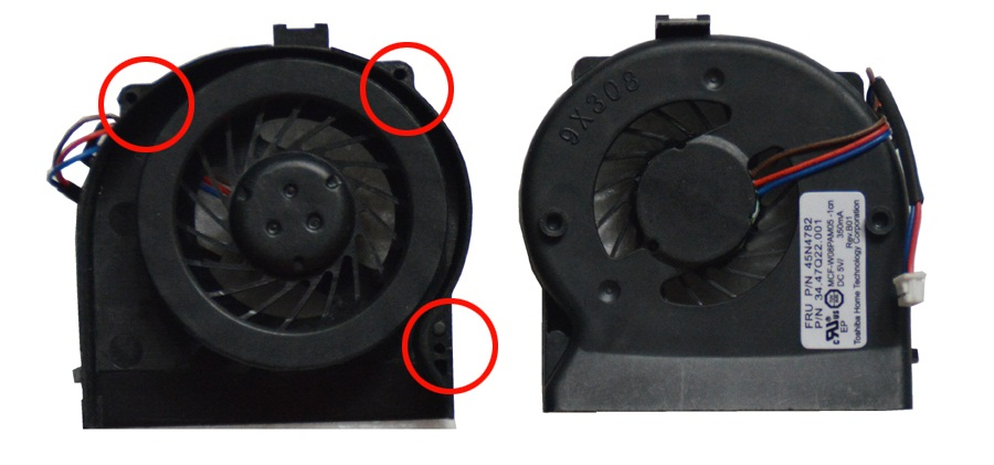 SSEA New laptop CPU Cooling Fan for IBM Thinkpad X200 X201 X201I CPU cooling Fan P