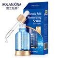 Rolanjona ácido hialurónico Serum hidratante blanqueador hidratante Facial reducir los poros reafirmantes cuidado de la piel belleza crema Facial esencia