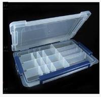 2 יחידות רכיבים אלקטרוניים פלסטיק קופסא לאחסון תכשיטי 20 רשת שקופה קלאסי אוסף בית וגינה קופסות האחסון בינס