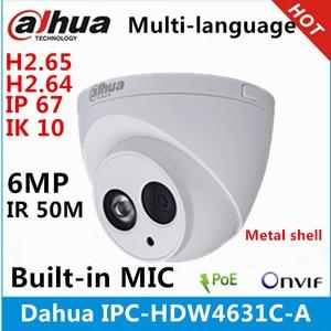 Image 1 - Dahua IPC HDW4631C A coque en métal 6MP intégré micro POE IR 50m IP67 IK10 caméra ip remplacer IPC HDW4431C A caméra de vidéosurveillance