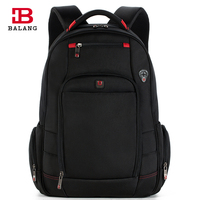 BALANG Brand Designer Men Waterproof Business Backpacks Large Capacity Travel Leisure Backpack For 17inch Laptop Backpack