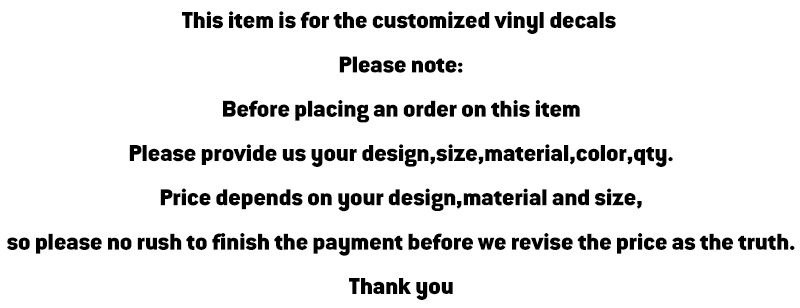 Aliexpresscom Buy Customize Your Own Vinyl Stickers Car Styling - Custom vinyl decals covering for motorcycles