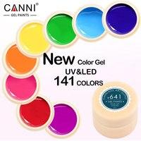 50618 8ml Pure Colors UV Gel Manicure Nail Art Tips Polish Design DIY 1 PCS