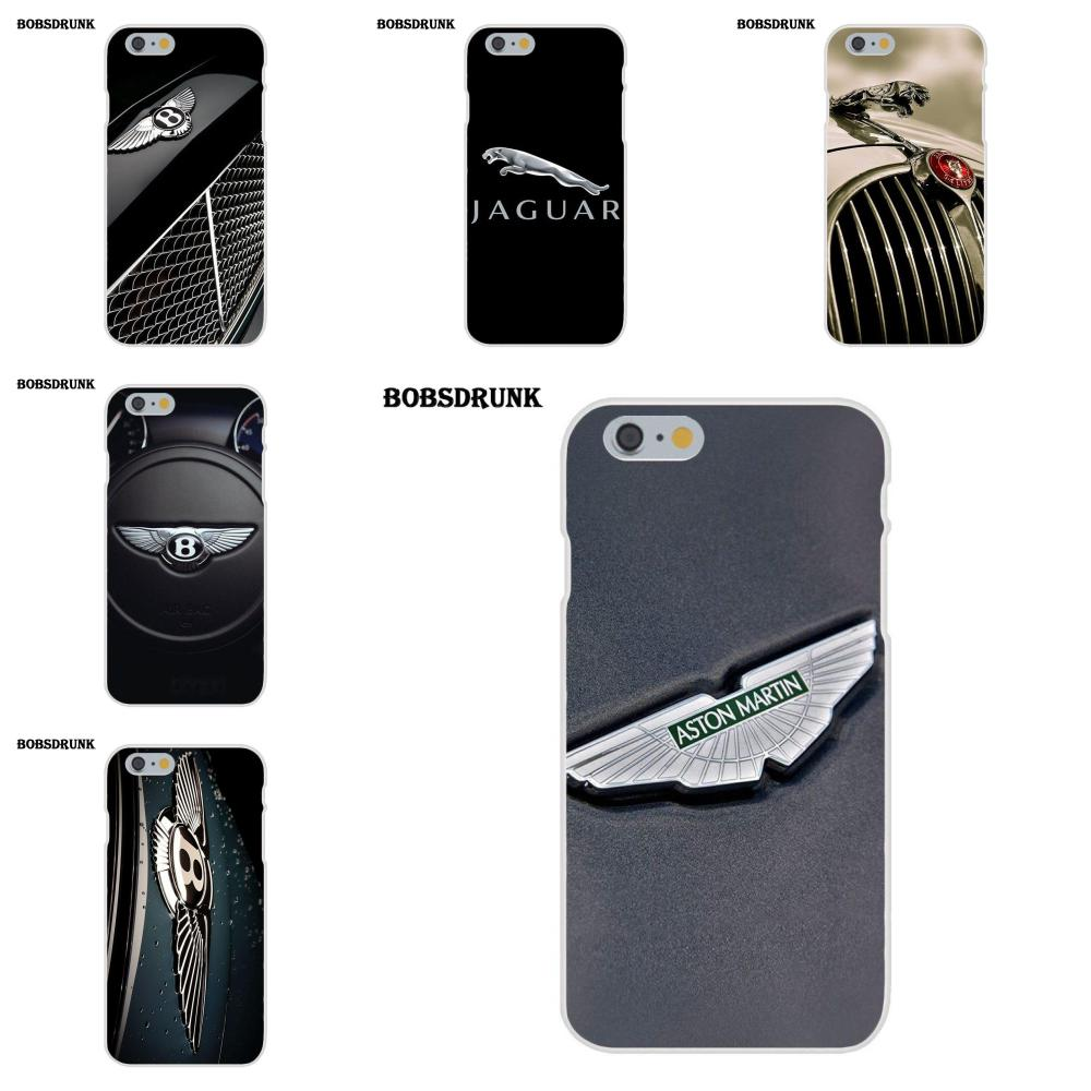 EJGROUP Weiche Mode-Fall Für Apple <font><b>iPhone</b></font> X 4 4 s 5 5C SE 6 6 s 7 8 plus Luxus Marke Auto <font><b>Logo</b></font> image