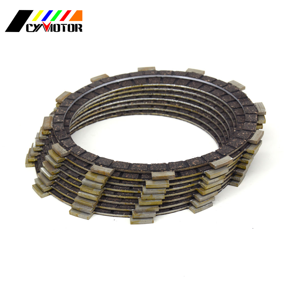 8PCS Motocycle Clutch Friction Plates Disc Set For YAMAHA YZF-R1 YZF R1 99 00 01 02 03 1999 2000 2001 2002 2003