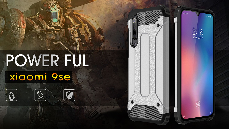 Diamond Armor Hard Case Cover For Xiaomi M9 / 9Se / Redmi 7 / Redmi Go/Redmi K20-K20pro Case Coque