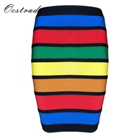 Limited Stock Ocstrade Summer Fashion Skirts Collections Women Colorful Bandage Skirt Mini Skirt 9 Styles Available