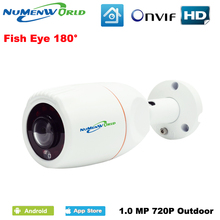 NuMenworld 180 Degree Panoramic Fish Eye Lens Outdoor IP Camera Night Veresion kamera APP Remote Control P2P IP Webcam Onvif