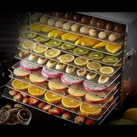 Multifunctional 10 Trays Food Drying Machine Tea Fruits And Vegetables Drying Machine Pet Food Drying Machine
