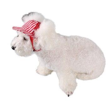 Perro de mascota perro tapa para casco sombreros gorra chien gorra para perro honden petje casco gato mascotas perros accesorios