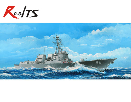 RealTS Trumpeter model 04528 1/350 USS Forrest Sherman DDG-98 plastic model kit realts trumpeter 1 72 01620 tu160 blackjack bomber model kit
