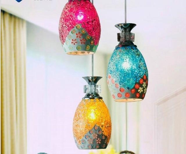 Hanglamp Voor Slaapkamer : Freeshipping mozaïek restaurant lamp hanglamp slaapkamer lamp