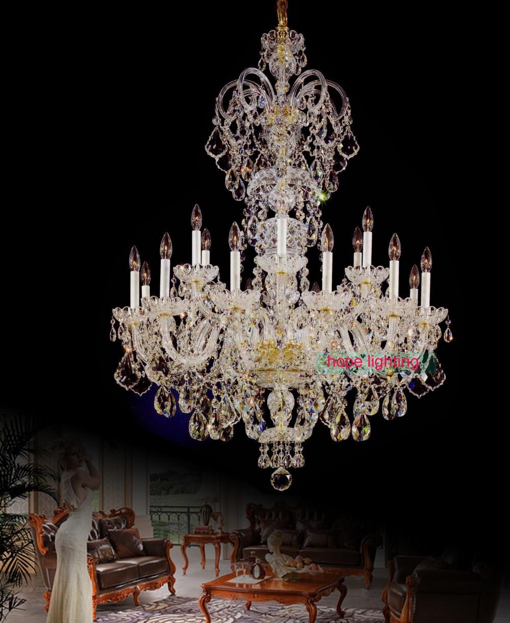 Aliexpress.com : Buy High Ceiling Fashion Gold Crystal