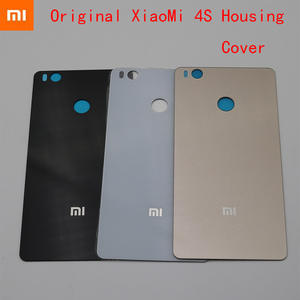 Back Rear Cover For Xiaomi Mi4S M4S 4S back cover Battery Door Housing case e071cfea68