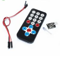 10set 100%New Infrared IR Wireless Remote Control Module Kits For Arduino