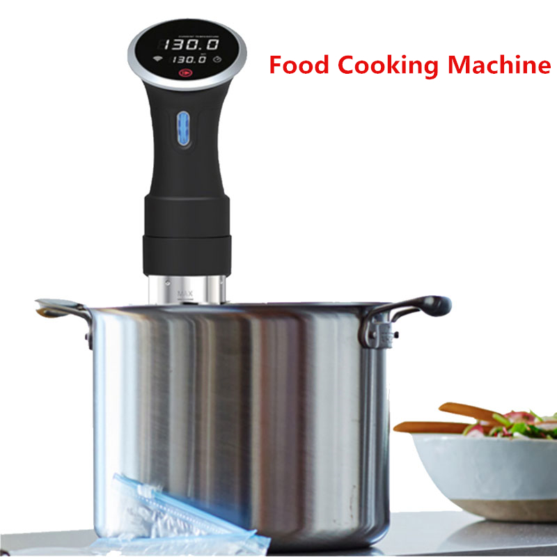 Best Price 110V 220V Food Sous Vide Precision Cooker Low Temperature Slow Cooking Machine 1000W Beef Steak Baking Processor 02 champagne