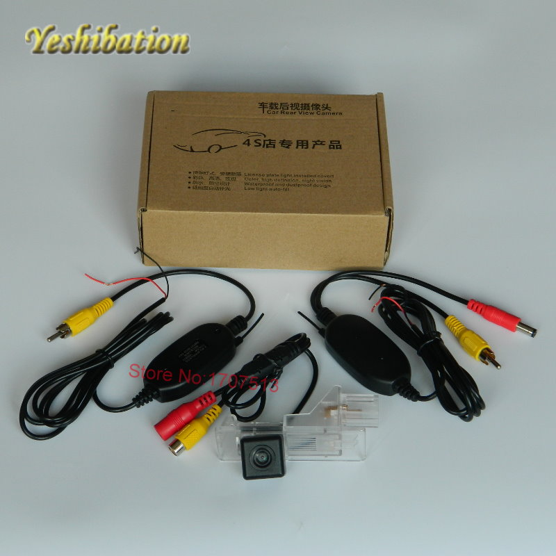 Yeshibation Parking Car Wireless rear camera For Nissan Pathfinder R52 2012~2015 HD Wide Angle 170 Night Vision