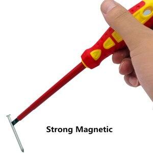 Image 5 - 7PCS Insulated Screwdriver Set CR V High Voltage 1000V Magnetic Phillips Slotted Screwdriver Durable Hand Tools