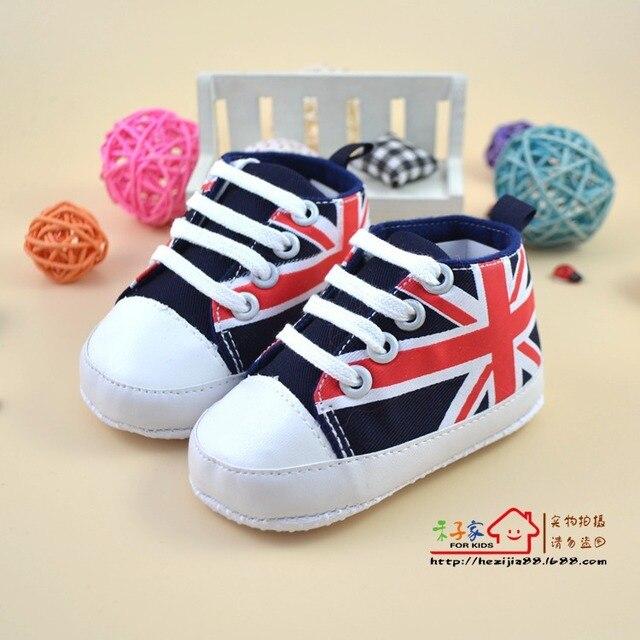 Gratuite Américain Modèle Livraison Chaussures Enfant Casual De Drapeau Bébé Garçon Premiers Marque Marcheurs Sport 3A4j5RL