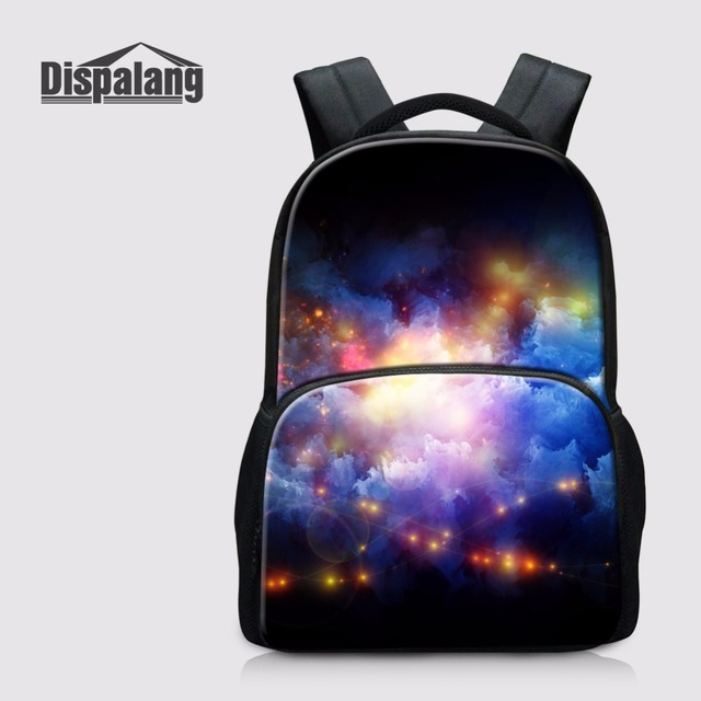 Dispalang Watercolor Laptop Backpack Customized School Bag For Teenager  Girls Children Bookbag Cool Colorful Bagpack Rucksack 857980f8d15fe