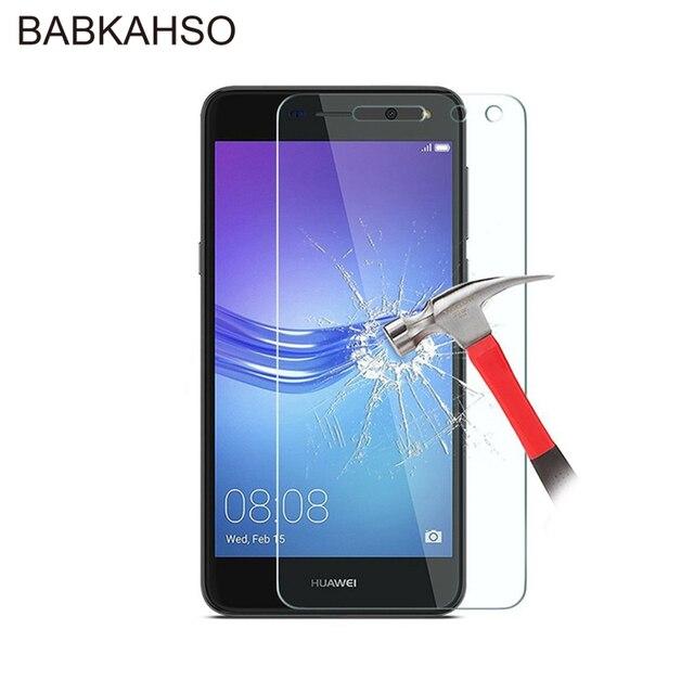 Nieuwe Gehard Glas voor Huawei Y6 2017 Glas MYA L11 MYA L41 Y6 2017 Screen Protector Voor Huawei Nova Jong MYA L11 l41 Glas