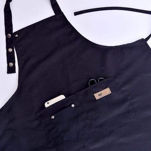 Image 5 - Lady women men ajustável lona de alta qualidade cozinha avental para cozinhar cozimento restaurante manicure salão de beleza casa evitar óleo