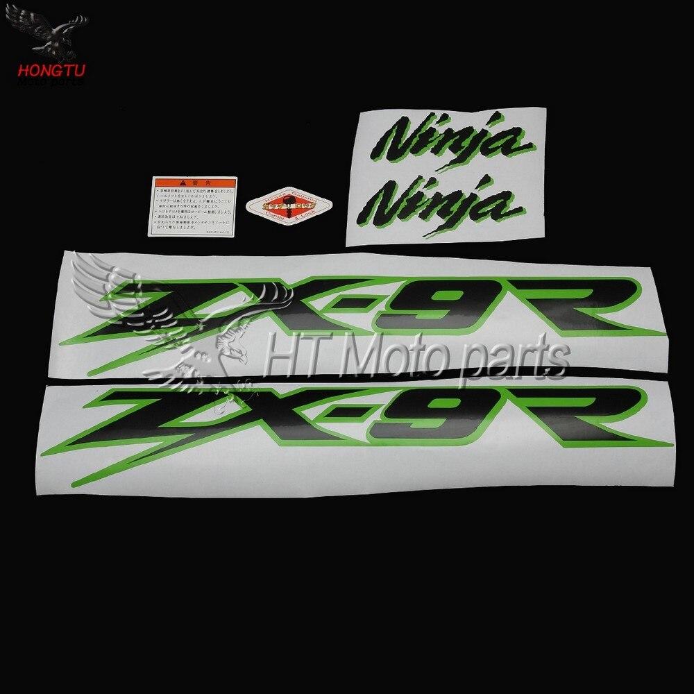 Zx 9r 2003 Ninja Full Decals Stickers Graphics Kit Set
