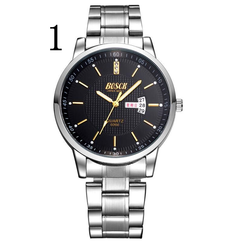 watch men's mechanical watch automatic waterproof leather student fashion tide 2018 new men's watch