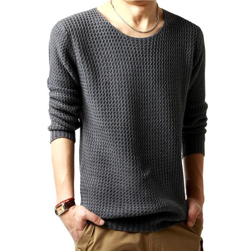 DisappeaRanceLove Brand Autumn fashion male o-neck loose sweater thick yarn sweater top autumn clothes men's clothing