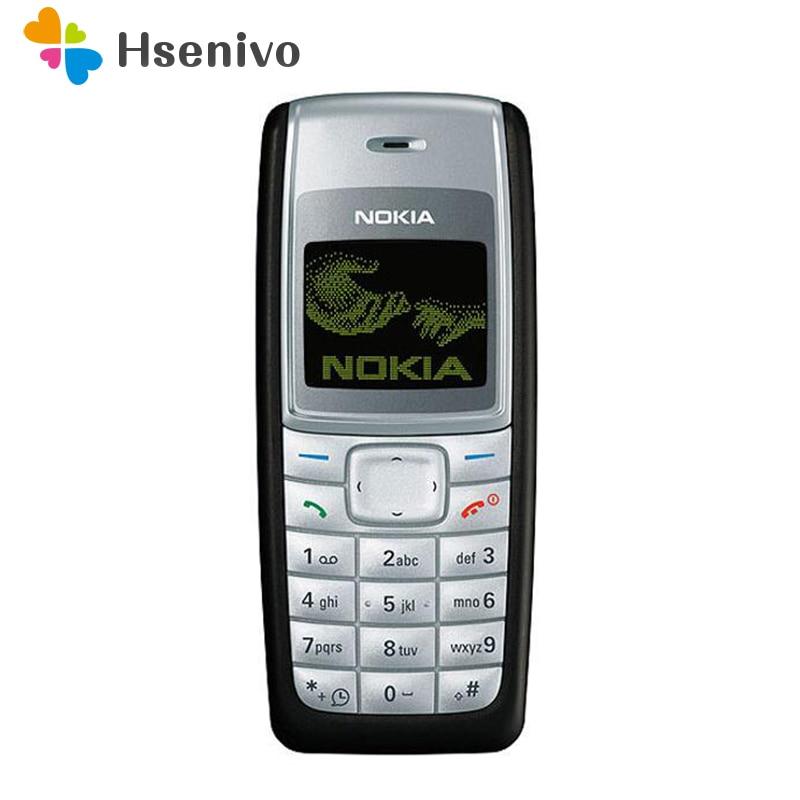100 Original Nokia 1110 1110i Unlocked GSM 2G Refurbished Cheap Good Quality Nokia Cellphone Free shipping