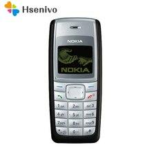 100% Оригинальный Nokia 1110 1110i GSM 2 г Восстановленное Дешевые Хорошее качество мобильного телефона Nokia Бесплатная доставка