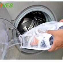 Storage Organizer Bag Mesh Laundry Shoes Bags Dry Shoe Organizer Portable Washing bags home slippers