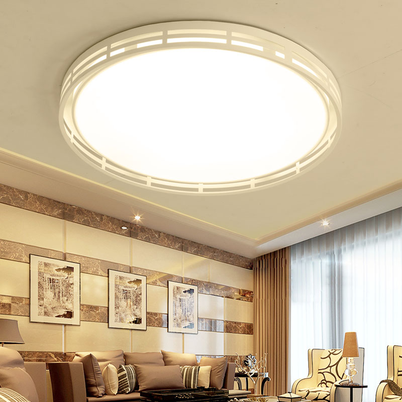 Dimmable Modern Led Ceiling Lamp Round Ceiling Light For