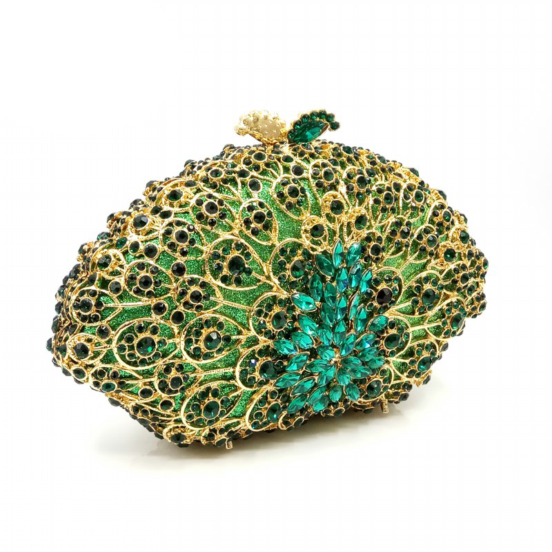 Femmes Sacs 1 Soirée Cristal Luxe send Pictures Mariée Noce Wallet Color À Embrayages Designer De Sac Green Main Élégant Diamants r0wrgq