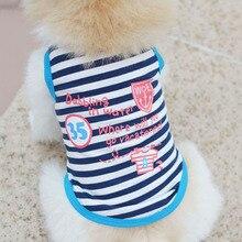 Summer Pet Puppy Cotton Shirt Small Dog
