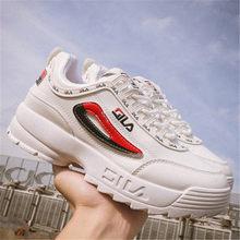 3ed0c28d853 2019 Merk Sneakers Vrouwen Running filas schoenen Disruptor 2 Gym schoeisel  Demping platform Ademende Sport wit zwart Sneaker