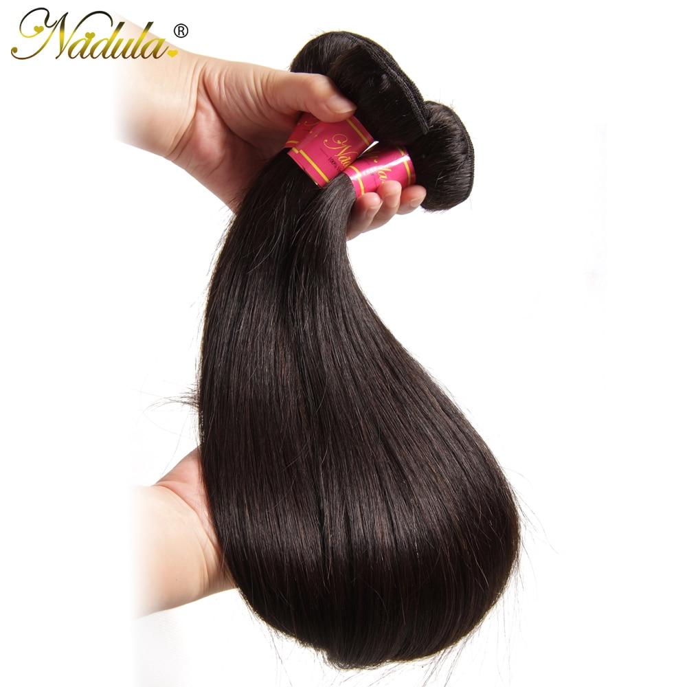 Nadula Hair 3piece/Lot  Straight Hair s 8-30inch Hair s Natural Color  Hair Bundles Deal 4