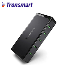 Tronsmart Titan UC5F 5 Ports Quick Charge 2.0 USB Smart Desktop Charger QC2.0 90W Turbo Tronsmart UC5F Charge Fast Charging