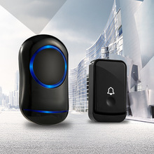 Intelligent Wireless Doorbell Saving power Smart home security With Transmitter US EU  Plug