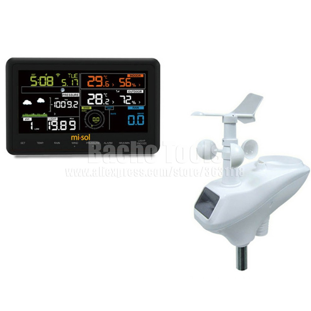 buy wireless weather station wifi. Black Bedroom Furniture Sets. Home Design Ideas