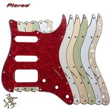 Quality Guitar Parts -For US Fd 11 Screw Holes MIM Startocaster SSH Humbucker Guitar Pickguard Scratch Plate relays g6b 1174p fd us g6b 1174p g6b 1174p fd us dc24v 24v