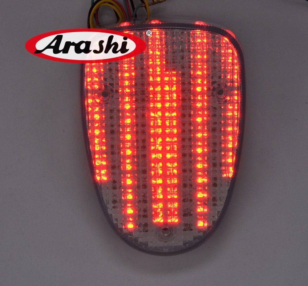 все цены на Arashi LED Rear Brake Tail Light For YAMAHA Road Star 99-03 Royal Star 96-08 Vstar CLASSIC 98-08 Turn Signal Running Tail Light онлайн