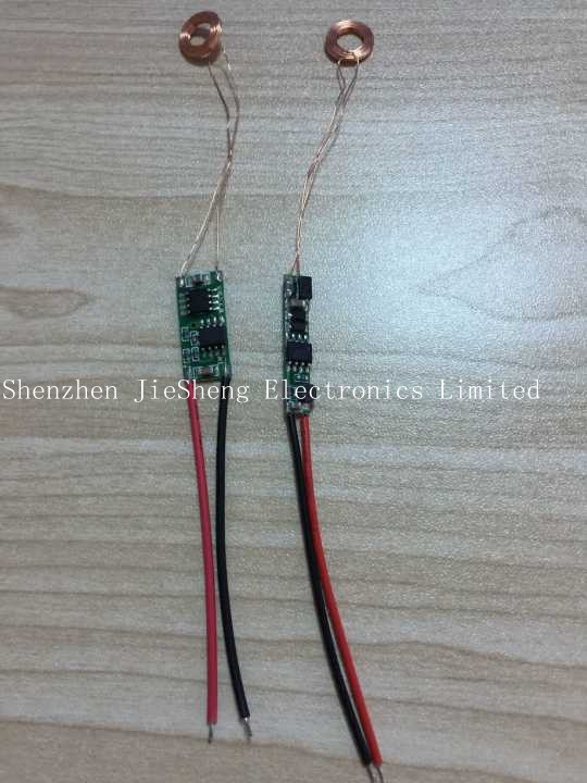 FREE SHIPPING 2PCS/LOT 10mm Wireless Charging Module Wireless Power Supply Module Induction Charger
