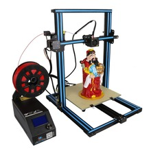 (Ship From UK )High Precision DIY 3D Printer Kit 300*300*400mm Printing Size With Dual Z-Rod Lead Motor Filament Detector